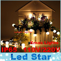 Holiday Christmas lights Wedding LED String Outdoor 5M 50LEDs / 10m 100LEDs changeable Mini LED Ball String Lighting decoration