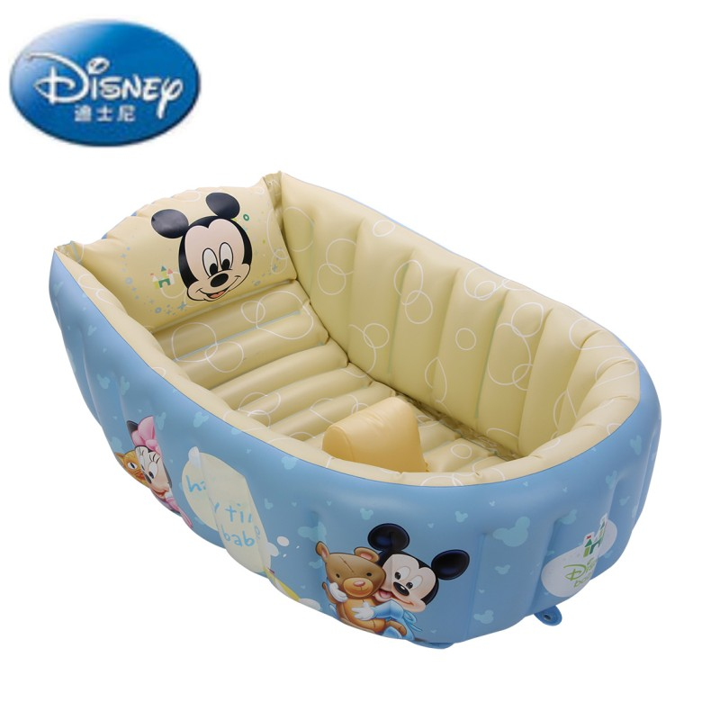 summer portable large baby toddler inflatable bathtub thick bath tub pool. Black Bedroom Furniture Sets. Home Design Ideas