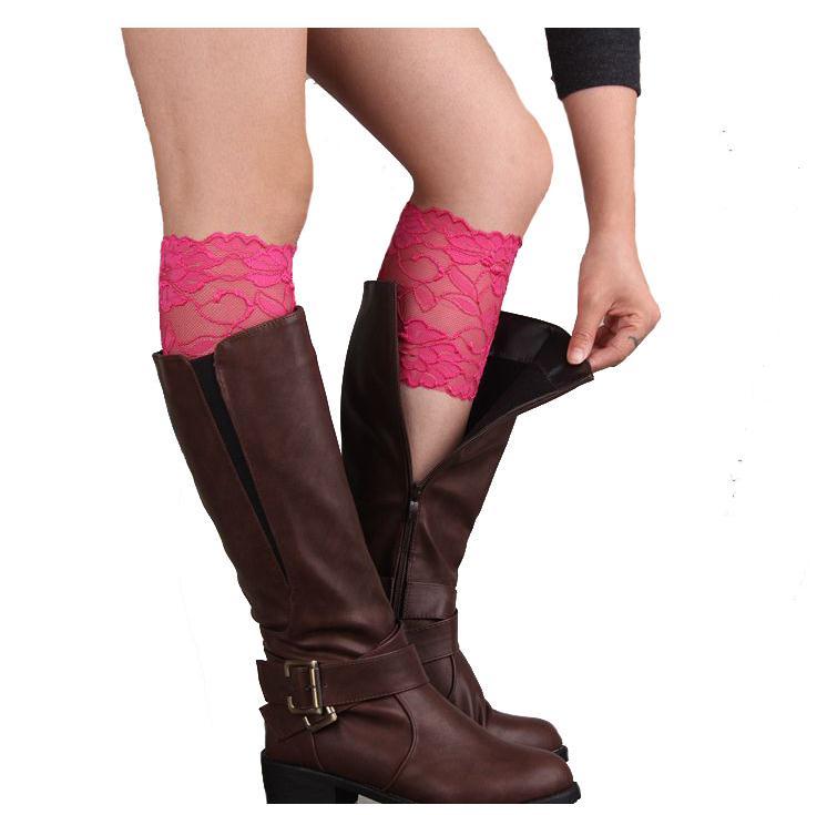 Nibesser бренд Для женщин стрейч ботинки на шнуровке манжеты пикантные женские Носки для девочек до колена ботильоны wamer Весна отделкой Ботворе...