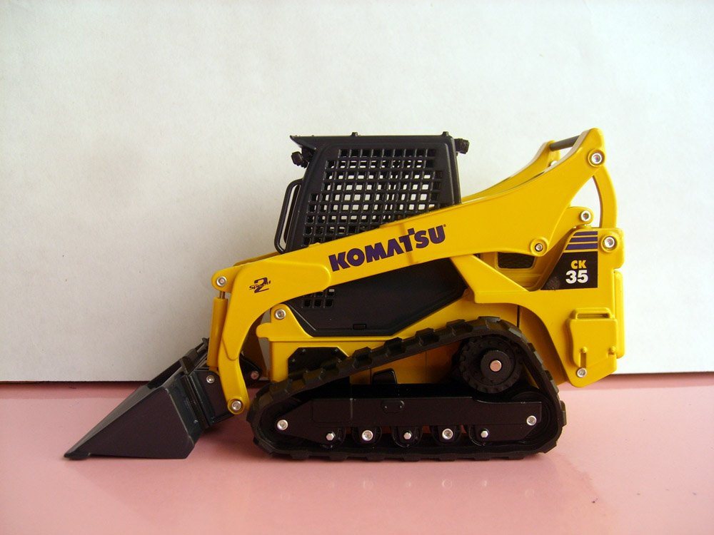 1:25 Komatsu CK35-1 компактный гусеничный игрушка погрузчик
