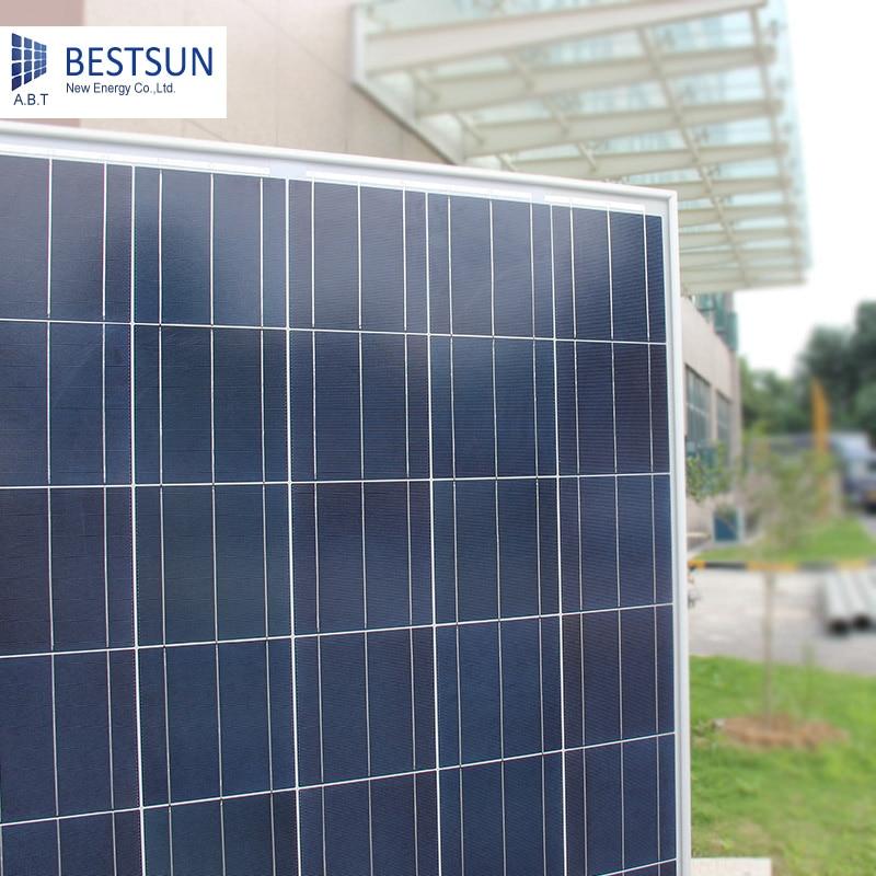 R$ 698 72 |BS 325W barato fabricantes de painéis solares de 325 watts  painel solar com alta eficiência do painel solar poli ABTSOLAR BESTSUN 24 v  em