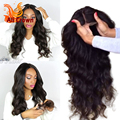 Long Wavy Wig Brazilian Virgin Hair Body Wave Glueless Full Lace Wigs With Baby Hair Natural Hairline Brazilian Human Hair Wigs