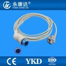 Nihon Kohden TL-101S pediátrica Spo2 sensor, tipo de ponta macia, 10 pinos