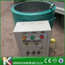 15 kg hour wax melting tank paraffin tempering machine on sale