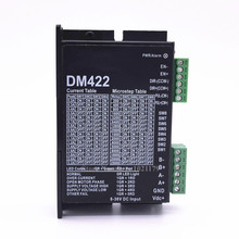 DM422 DC 24โวลต์25 28 35 42 Steppterขับมอเตอร์300กิโลเฮิร์ตซ์2เฟส0.2A ก8 36VDCขับมอเตอร์สำหรับNema 14 15 17มอเตอร์