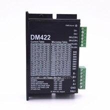 dm422 dc 24 v 25 28 35 42 מנוע steppter נהג 300 khz 2 שלב 0.2a   2.2a 8 36vdc נהג רכב לnema 14 15 17 מנוע