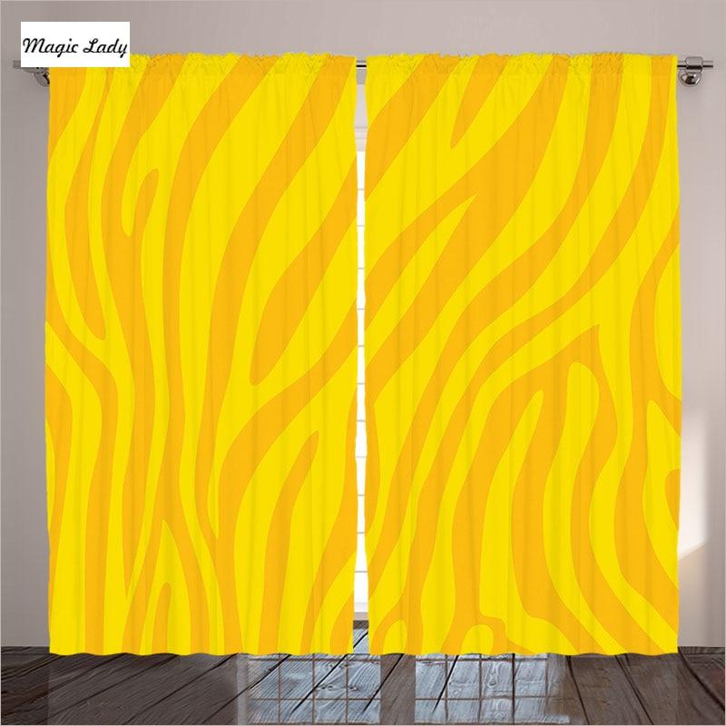 Zebra Kitchen Decor: Kitchen Curtains Yellow Zebra Print Decor Animal Print