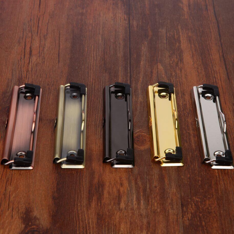 DIY Menu Journal Metal Board Clip. Writting Board Clips Accessories