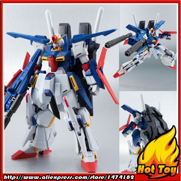100% Original BANDAI Tamashii Nations Robot Spirits No.179 Action Figure - Enhanced ZZ Gundam from Mobile Suit Gundam ZZ пуговицы zz 100 diy
