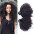 Mongolian Kinky Curly Virgin Hair Extensions 2Pc Mongolian Afro Kinky Curly Human Hair Weave Ever Beauty Hair Products 10-26inch