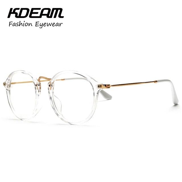 Elegante do Vintage transparente óculos óculos De armação De óculos para  óculos De Grau KD890 190475c8f5