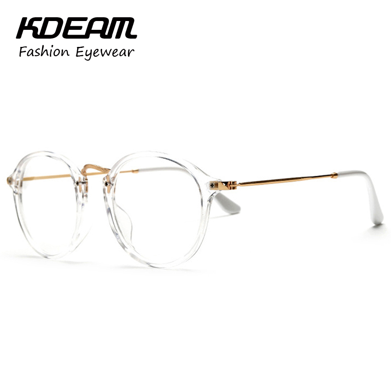 stylish vintage transparent glasses frame eyewear for computer eyeglasses girls spectacles gafas de grau kd890