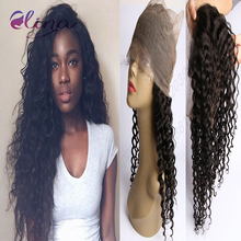 360 Lace Frontal Closure Brazilian Lace Frontals With Baby Hair Deep Wave 360 Full Lace Frontal Pre Plucked Natural Hairline