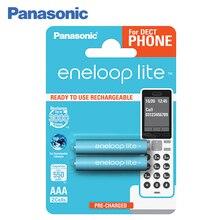 Panasonic BK-4LCCE/2DE Аккумуляторы eneloop lite 550 мАч AAA DECT BL2. Оптимальное сочетание высокой емкости и большого количества циклов заряд / разряд – до 3 000 раз. Сохраняют до 70% энергии после 10 лет хранения.