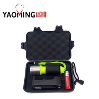 Professional 2300LM LED 10W Yellow Diving Light CREE XM L T6 3 Modes Underwater Scuba Flashlights