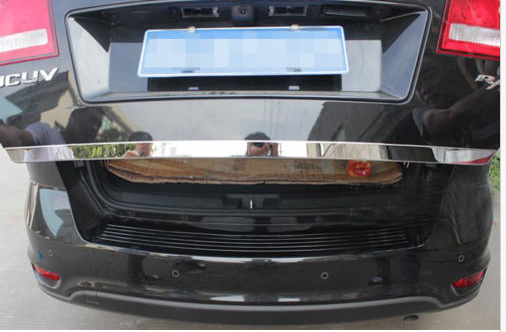 ФОТО stainless steel rear trunk cover trim for Dodge Journey 2009 2010 2011 2012 2013
