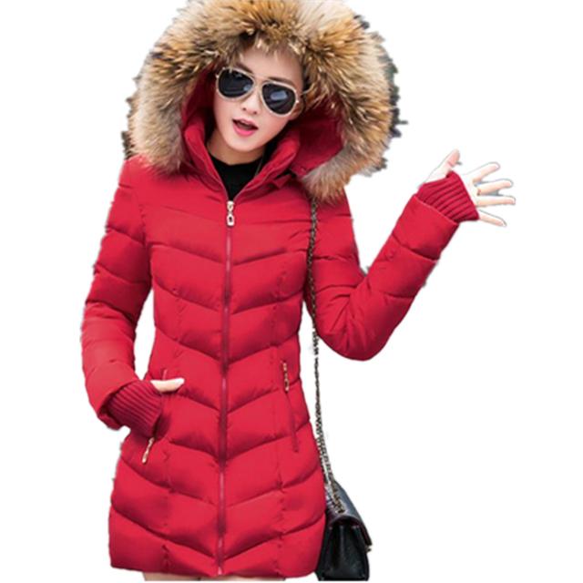 Neve desgaste amassado jaqueta feminina 2017 outono e inverno as mulheres magro curto algodão-acolchoado jacket outerwear casaco de inverno mulheres CM153