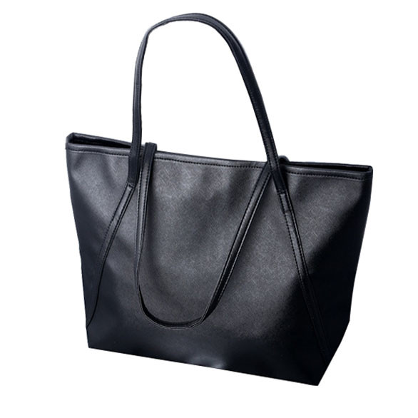 Bolsas feminina Women Bags Simple Larger Capacity PU Leather Women Shopping Bag