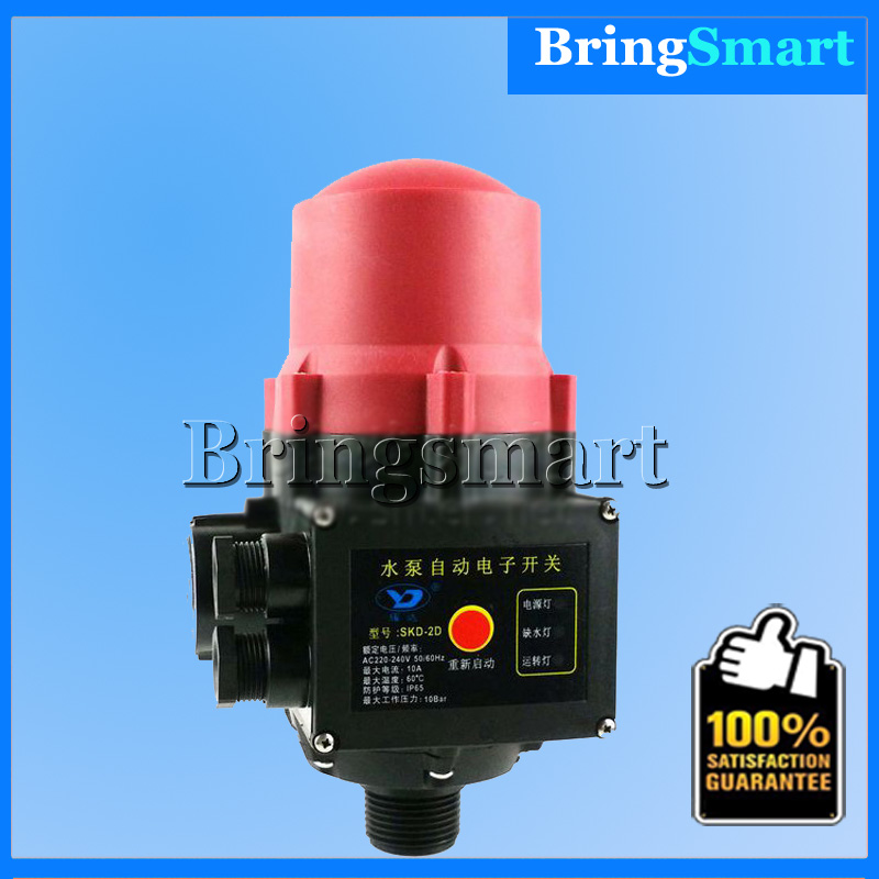 SKD-2D Pump Automatically Switches Electronic Pressure Controller Booster Pump Pressure Switch Automatic Booster Pump Controller sk 1 2 double pole water booster pump pressure control switch automatic booster pump controller