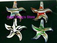 ожерелье мода муранского стекла подвески многоцветный 20 шт. + подарок и бесплатная доставка