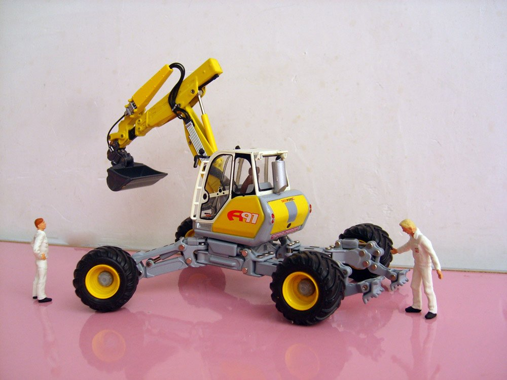 R-0181 1:50 Menzi Muck A91 передвижная игрушка для раскопок