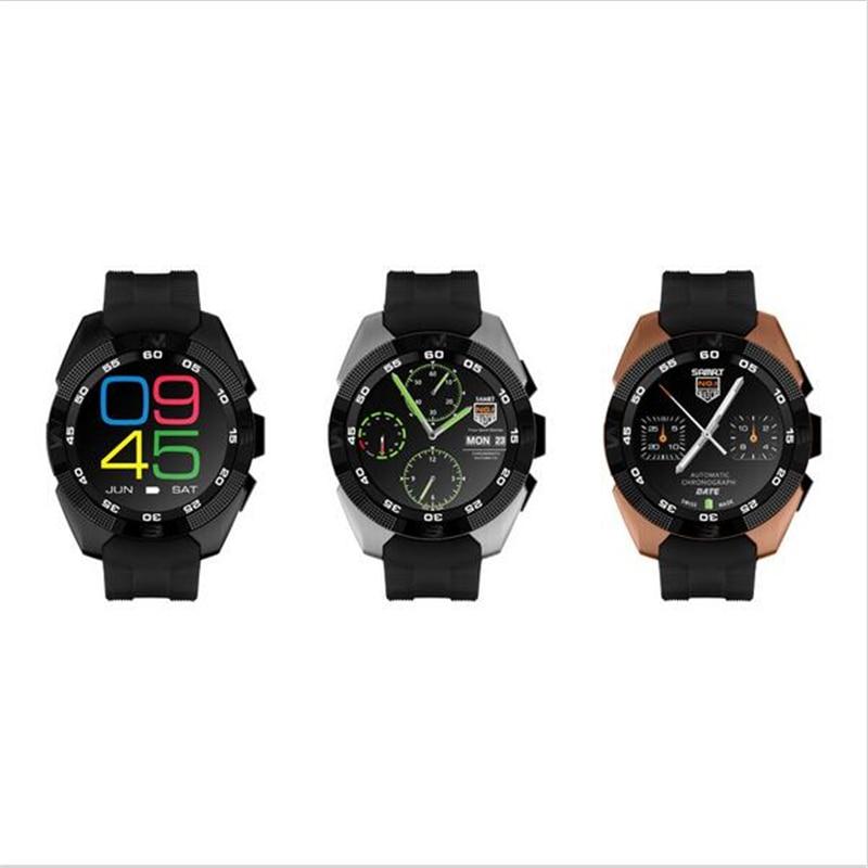 imágenes para Nueva original n° 1 g5 smart watch mtk2502 pulsómetro gimnasio rastreador smartwatch llamada sms recordatorio cámara para android ios