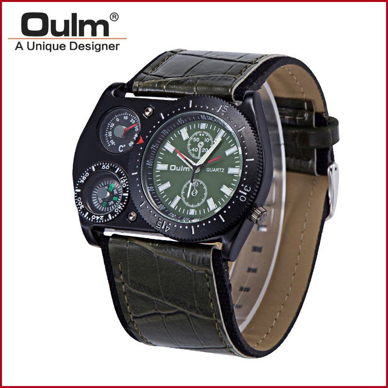 mens polshorloges oulm merk directe fabriek prijs pc21 quartz one - Herenhorloges - Foto 5