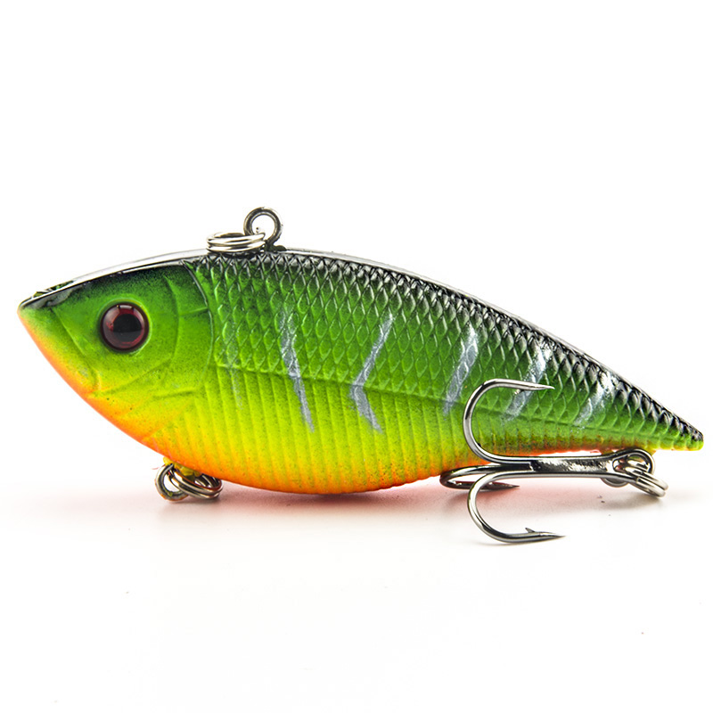 Fishing Lure 7cm 10.5g Wobbler Fishing Lures Rocker Lifelike VIB Lure - Fishing - Photo 1