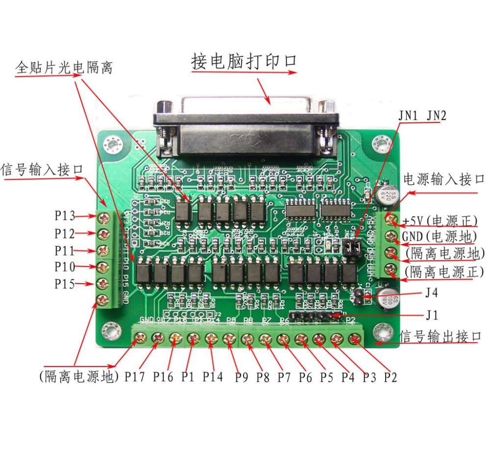 1 x DB25 Breakout Board adapter - 1 x diagram. aeProduct.getSubject()  aeProduct.getSubject()