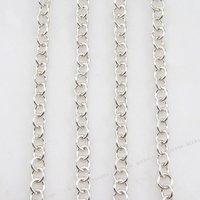 3 м серебряный браслет ожерелье цепь ювелирных изделий 130199