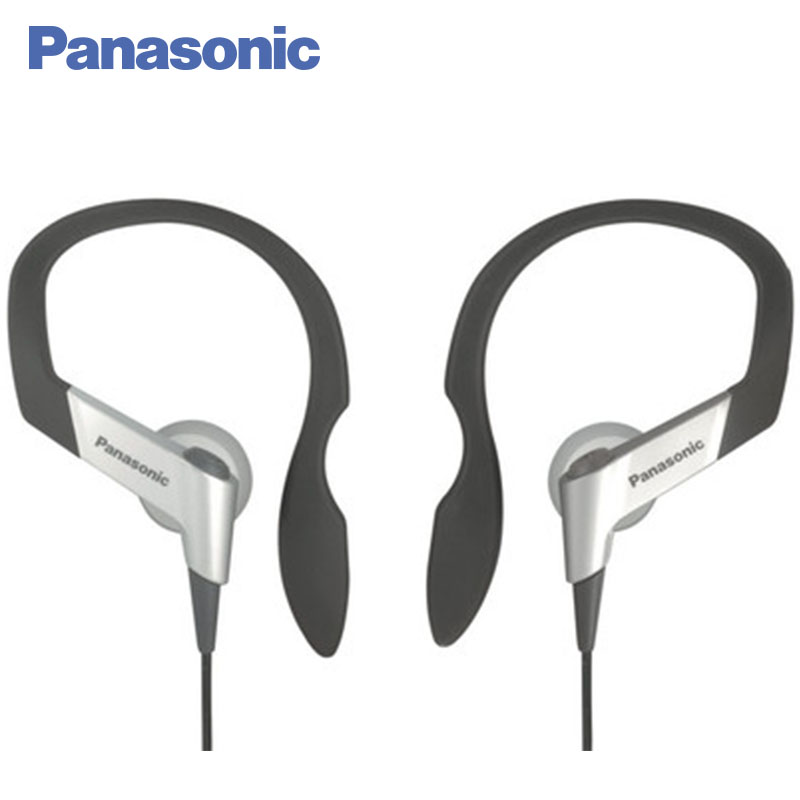 Panasonic RP-HS6E-S Earphones Headset-clip Neodymium magnet for rich and dramatic sound, Soft and comfortable ear arch elastomer professional in ear earphone metal heavy bass sound quality music earpiece for homtom ht30 headset fone de ouvido