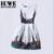 Niñas Vestidos de Verano 2017 Vestidos Para Niñas De 12 Años sin mangas Impresa vestido de Gran Tamaño Vestido de Partido Adolescentes Chicas Ropa Bata 16