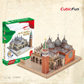 Cubicfun 3D Puzzle Jigsaw Puzzle Plazza San Marco Architecture Model DIY Puzzle 3D Toy Birthday Gift Educational Toy, Kids Toys