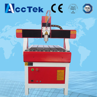 Acctek High Quality Cnc 4 Axis Milling Machine 6040 6090 6012 4 Axis Cnc Router Engraver