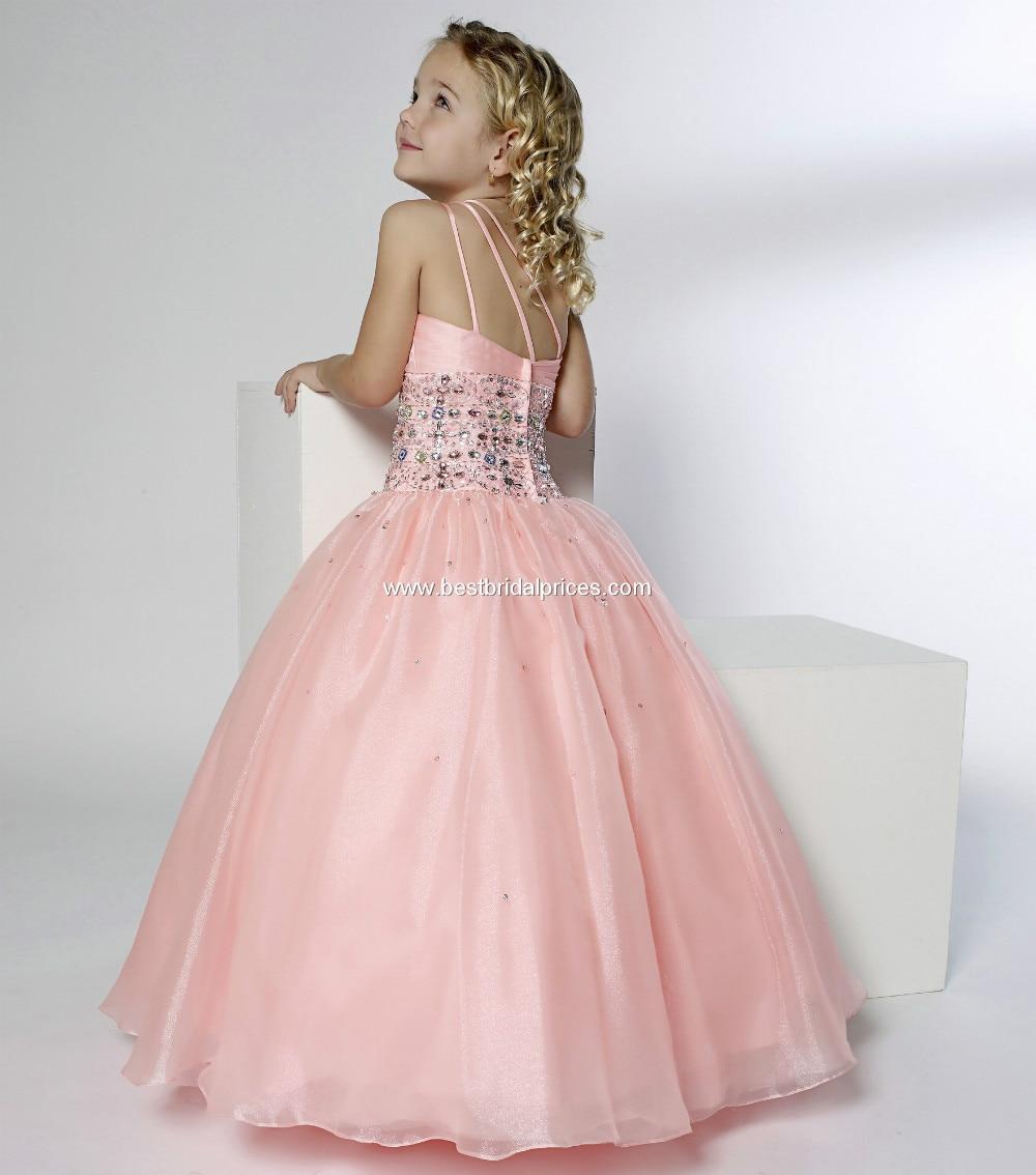 Atractivo Vestido Para La Boda Del Melocotón Colección de Imágenes ...