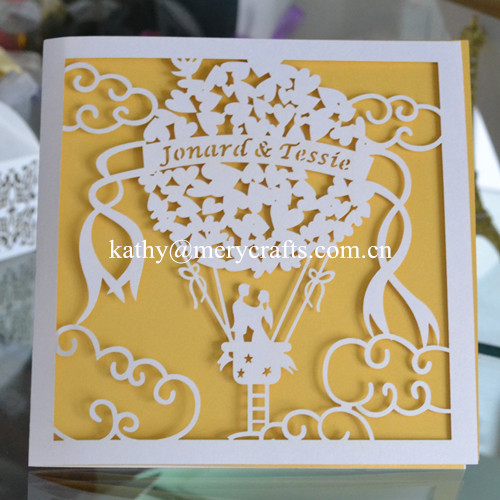 75pcslot wedding card design paper white laser cut wedding