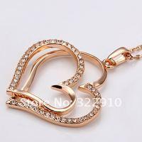 оптовая высокое качество никель освобождает противоаллергические новые ювелирные изделия золото цвет ожерелье для женщин