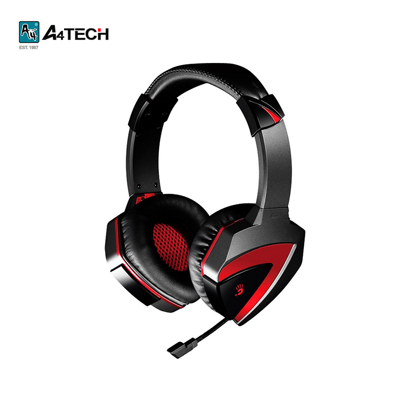 Gaming headset A4Tech Bloody G501 hl good quality original wireless headset bluetooth headphone headband headset with fm tf led indicators for iphone cell phone
