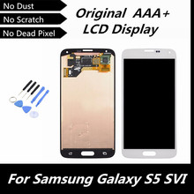 100% Tested Good LCD Display Touch Screen Replacement Part for Samsung Galaxy S5 i9600 G900R G900F G900H G900M G9001 Repairment