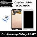 100% testado bom touch screen display lcd parte substituição para samsung galaxy s5 i9600 g900r g900f g900h g900m g9001 repairment