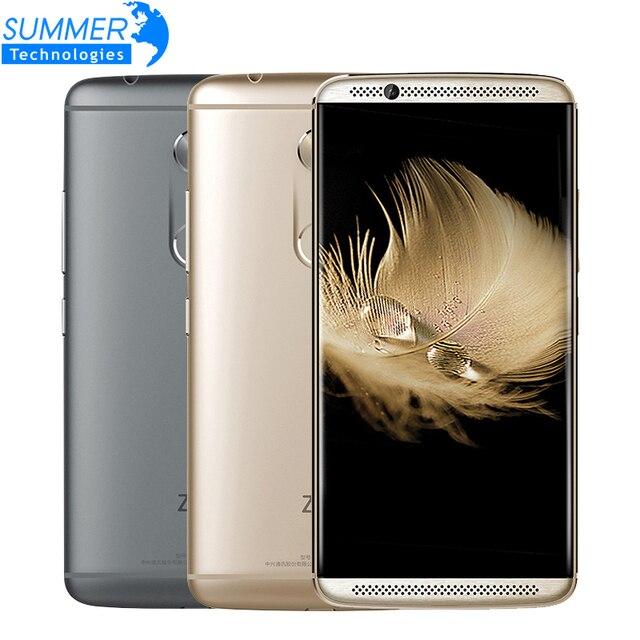 "Original ZTE Axon 7 A2017 Mobile Phone Snapdragon 820 MSM8996 Quad Core 4GB RAM 64GB ROM 5.5"" 20.0MP Fingerprint Smartphone"