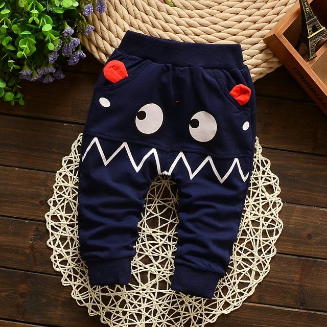 2017 Nueva Primavera bebé pantalones de algodón pantalones de los cabritos del bebé gilrs pantalones