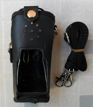 Walky talky skórzane etui do IC-V82 IC-V8 fm walkie talkie ic v82 ic v8 IC-F33GT IC-F43GT radio FM 2 way tanie i dobre opinie Ycall IC-V82 case walky talky leather case IC-V82 IC-V8 IC-F33GT IC-F43GT walkie talkie case 2 way radio case Black