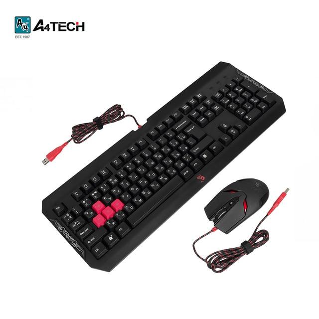 Клавиатура + Мышь A4Tech Bloody Q1100