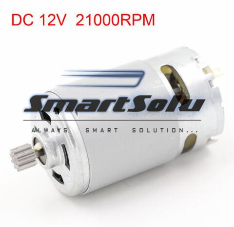 Free Shipping 5pcs/lot 21000RPM Speed High Torque Cylinder Shape Electric DC 12V Gear Motor  цены