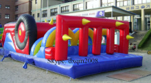 PVC inflatable sports game inflatable playground with high quality