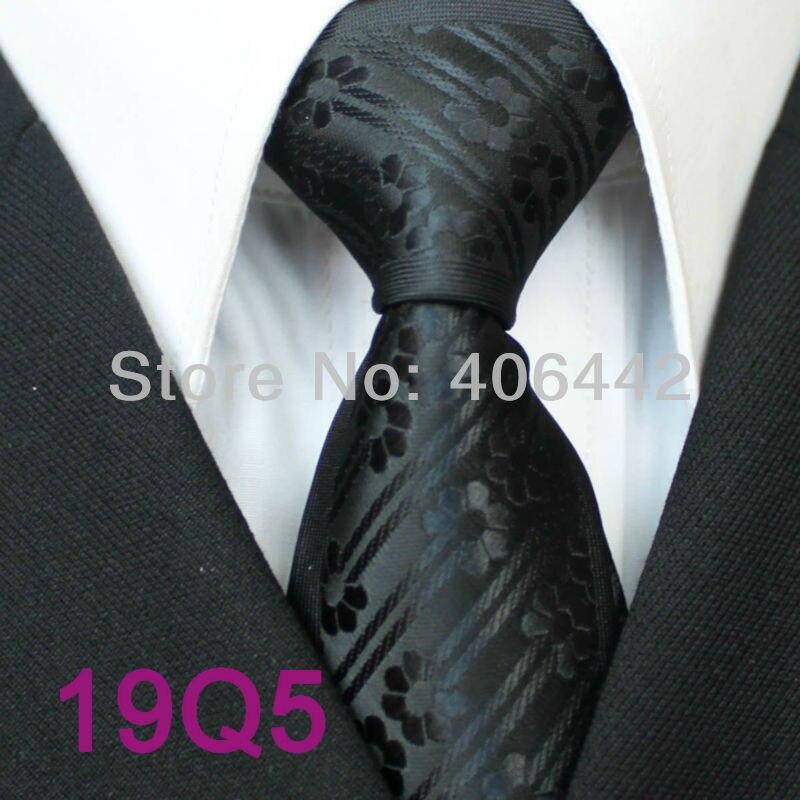 YIBEI coahella галстуки мужские обтягивающие Галстуки дизайн границы черные однотонные цветы/полосы микрофибры галстук модный тонкий галстук