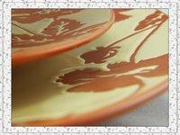 экспресс бесплатная доставка! 4 шт./лот высокое качество для посуда с цветок, Trek, салат, Спа и кружка
