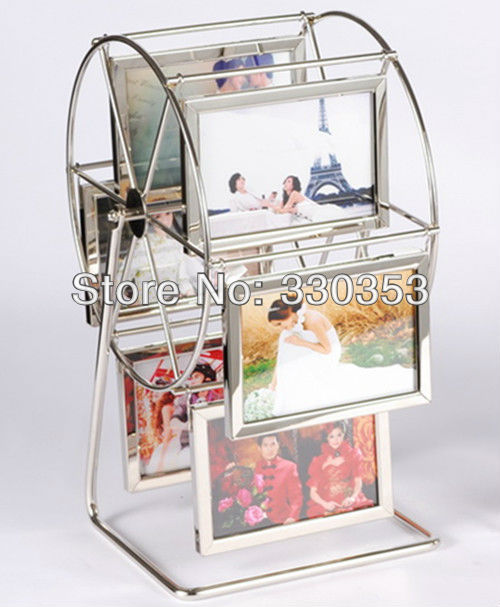 Happiness Windmill Ferris Wheel Metal Photo Frame Novelty Gifts-in ...