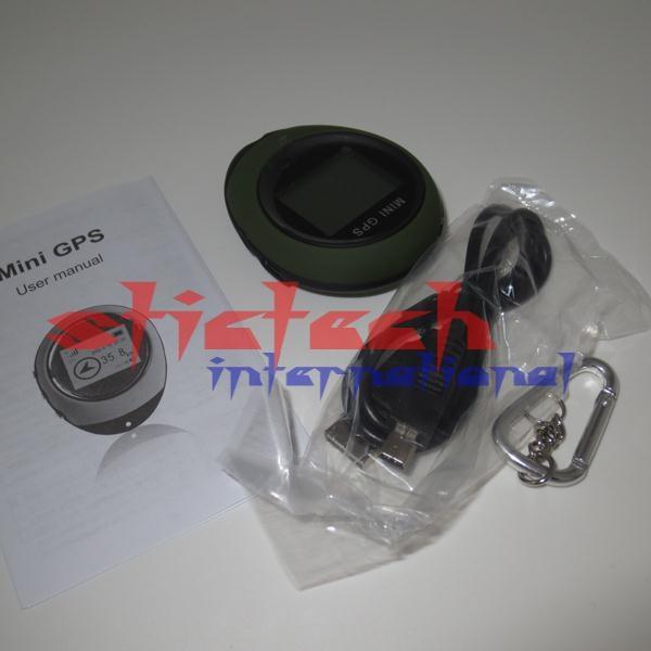 DHL или FedEx 20 шт PG03 ручной миниатюрный gps-навигатор с брелком USB Перезаряжаемый для спорта на открытом воздухе путешествия, розничная